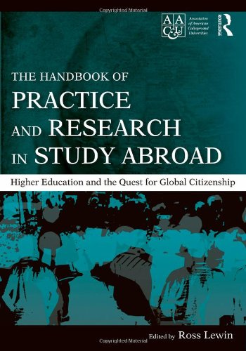 Handbook of Practice and Research in Study Abroad Higher Education and the Quest for Global Citizenship  2009 (Handbook (Instructor's)) edition cover