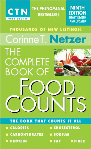 Complete Book of Food Counts The Book That Counts It All N/A 9780440245612 Front Cover