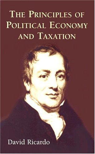Principles of Political Economy and Taxation   2004 edition cover