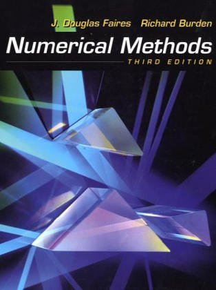Numerical Methods  3rd 2003 (Revised) 9780534407612 Front Cover