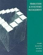 Production and Inventory Management  2nd 1991 9780538074612 Front Cover