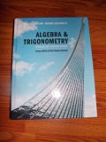 ALGEBRA+TRIG.-W/CD >CUSTOM< N/A 9780558324612 Front Cover