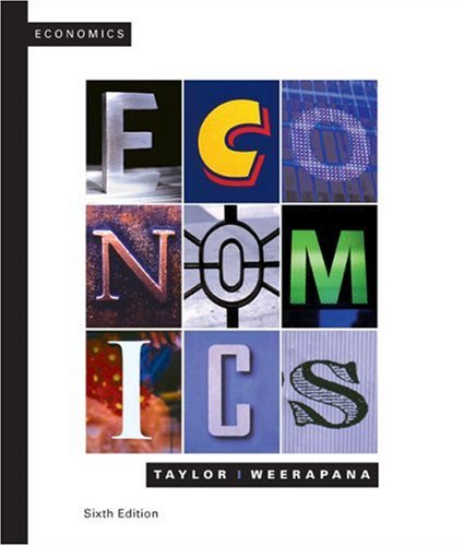 Economics  6th 2009 9780618967612 Front Cover