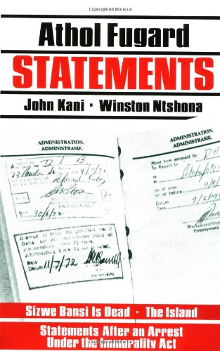 Statements  N/A edition cover