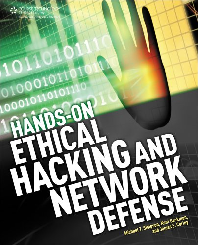 Hands-On Ethical Hacking and Network Defense   2013 edition cover