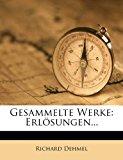 Gesammelte Werke: Erlosungen... Erster Band  0 edition cover