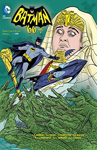 Batman '66 Vol. 2   2015 9781401254612 Front Cover