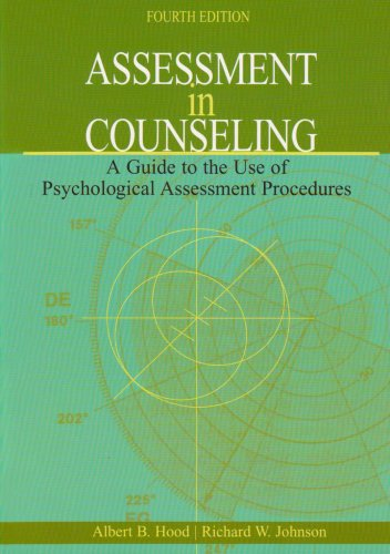 Assessment in Counseling A Guide to the Use of Psychological Assessment Procedures 4th 2006 edition cover