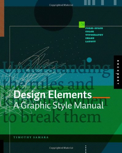 Design Elements A Graphic Style Manual  2007 edition cover