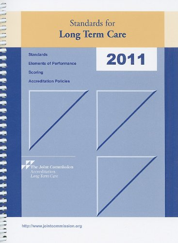 Standards for Long Term Care  2010 edition cover