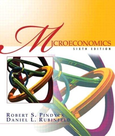 Microeconomics  6th 2005 edition cover