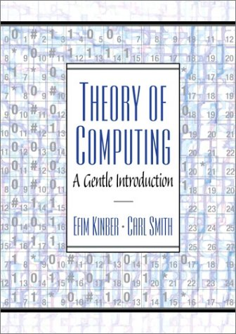 Theory of Computing A Gentle Introduction  2001 edition cover