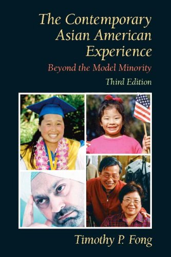 Contemporary Asian American Experience Beyond the Model Minority 3rd 2008 edition cover