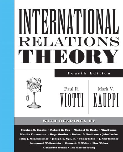 International Relations Theory  4th 2010 9780131892613 Front Cover