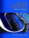 Computer Organization and Architecture  10th 2016 edition cover