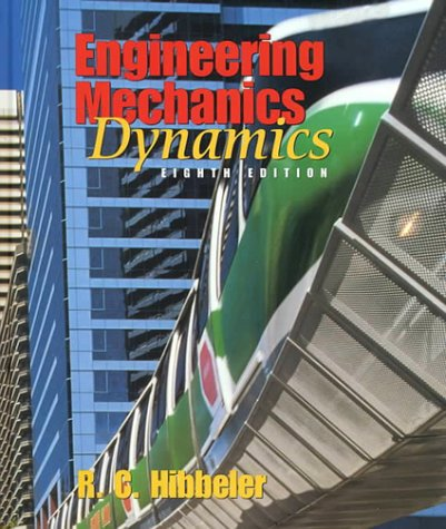 Engineering Mechanics Dynamics 8th 1998 edition cover