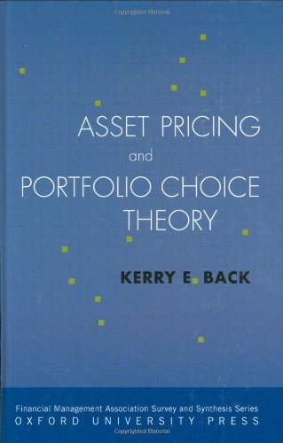 Asset Pricing and Portfolio Choice Theory   2010 9780195380613 Front Cover