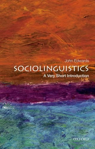 Sociolinguistics: a Very Short Introduction   2013 edition cover
