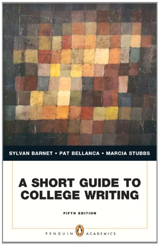Short Guide to College Writing  5th 2013 (Revised) edition cover