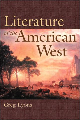 Literature of the American West   2003 edition cover