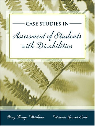Cases in Special Education Assessment   2005 edition cover