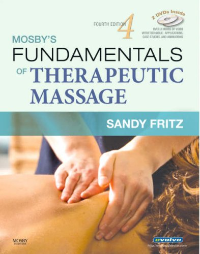 Mosby's Fundamentals of Therapeutic Massage  4th 2008 edition cover