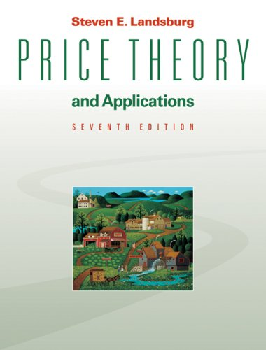 Price Theory and Applications  7th 2008 edition cover