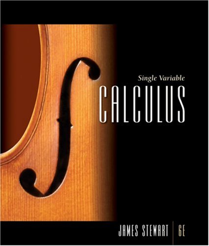 Single Variable Calculus Concepts and Contexts 6th 2008 edition cover