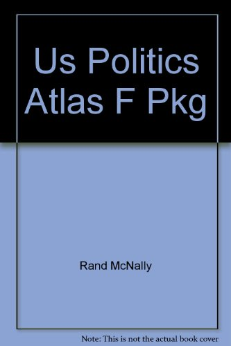 Us Politics Atlas  2007 9780618858613 Front Cover