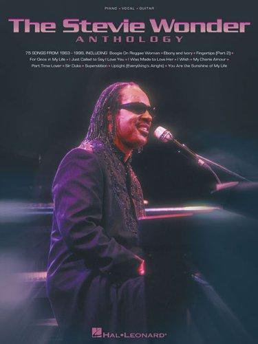 Stevie Wonder Anthology  N/A edition cover