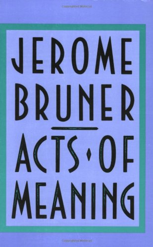 Acts of Meaning   1990 edition cover
