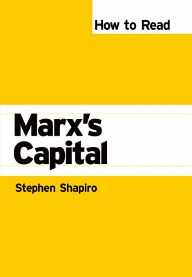 How to Read Marx's Capital   2008 9780745325613 Front Cover