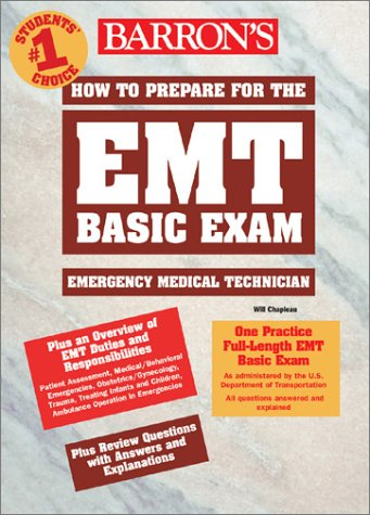 How to Prepare for the EMT Basic Exam   2003 9780764122613 Front Cover