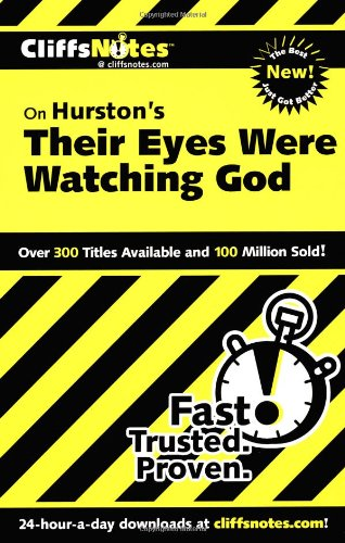 CliffsNotes on Hurston's Their Eyes Were Watching God   2001 edition cover