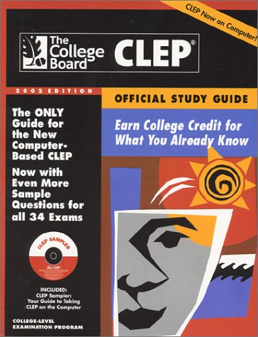 CLEP 2002 : Earn College Credit for What You Already Know 13th 9780874476613 Front Cover