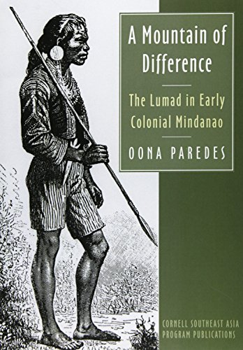 A Mountain of Difference: The Lumad in Early Colonial Mindanao  2013 edition cover