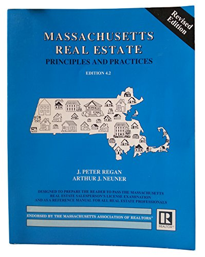 Massachusetts Real Estate Principles and Practices 4th edition cover