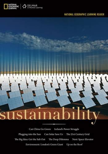 National Geographic Reader: Sustainability (with Printed Access Card)   2013 edition cover