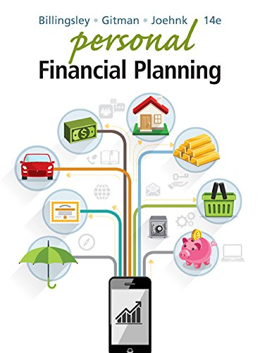 Personal Financial Planning:   2016 9781305636613 Front Cover