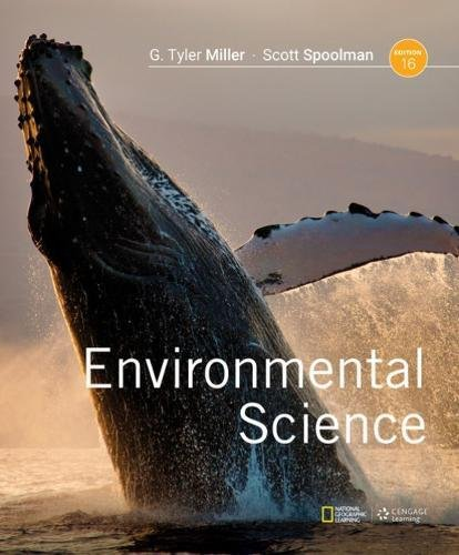 Cover art for Environmental Science, 16th Edition