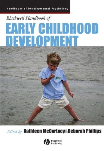 Blackwell Handbook of Early Childhood Development   2008 edition cover
