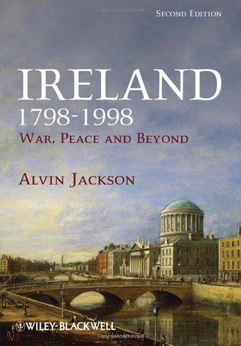 Ireland, 1798-1998 War, Peace and Beyond 2nd 2010 edition cover