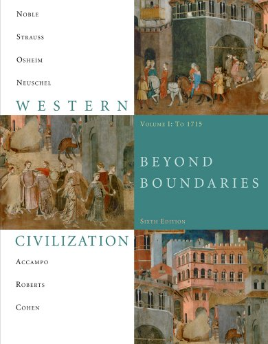Western Civilization Beyond Boundaries 1715 6th 2011 edition cover