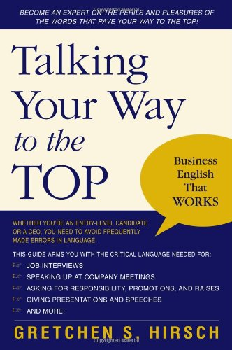 Talking Your Way to the Top Business English That Works  2006 edition cover