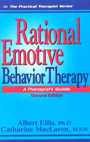 Rational Emotive Behavior Therapy A Therapist's Guide 2nd 2004 edition cover