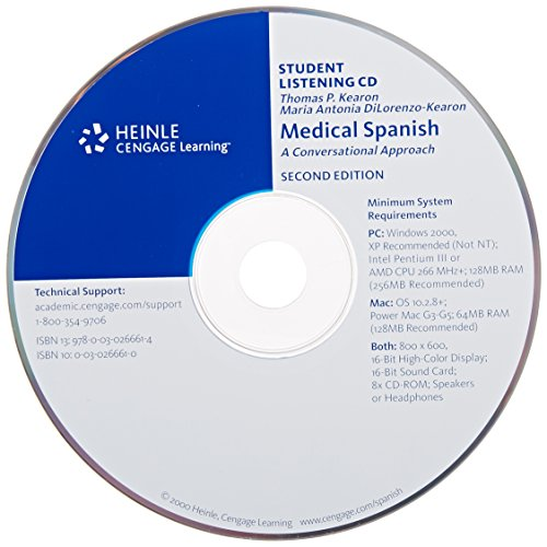Medical Spanish Conversational Approach 2nd 2000 9780030266614 Front Cover