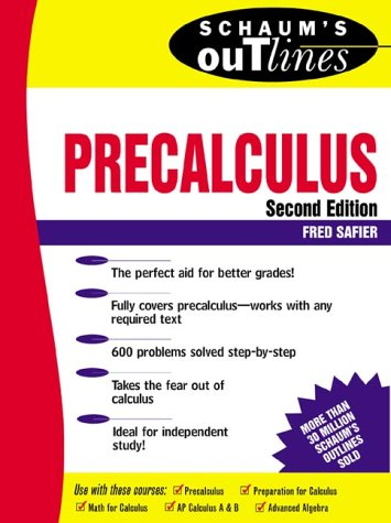 Precalculus  2nd 1998 9780070572614 Front Cover