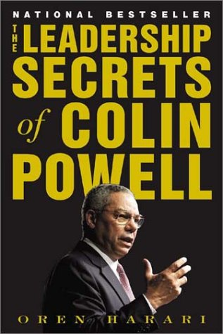 Leadership Secrets of Colin Powell   2003 edition cover