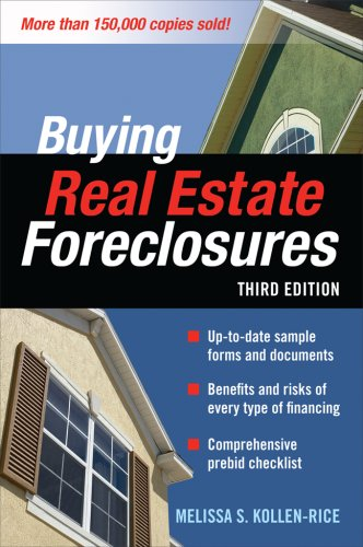 Buying Real Estate Foreclosures 3/e  3rd 2008 9780071546614 Front Cover