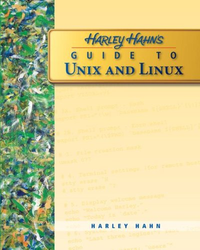 Harley Hahn's Guide to Unix and Linux   2009 edition cover